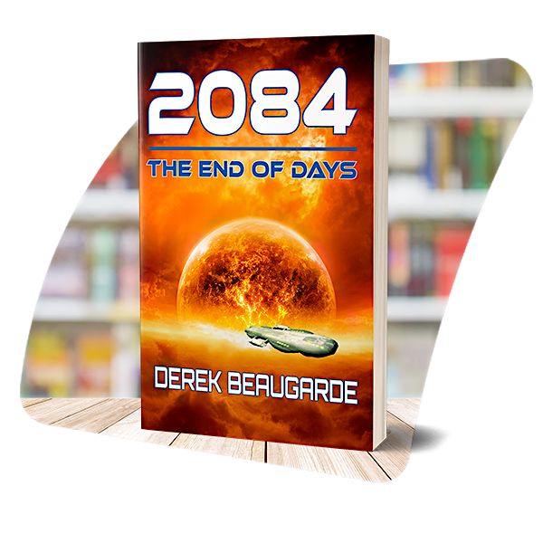 The cover of 2084: The End of Days
