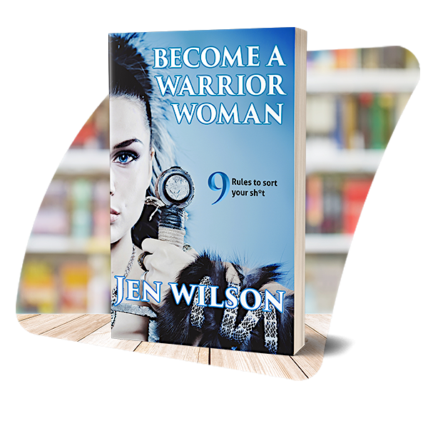 The cover of Become a Warrior Woman