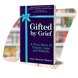 The cover of Gifted by Grief