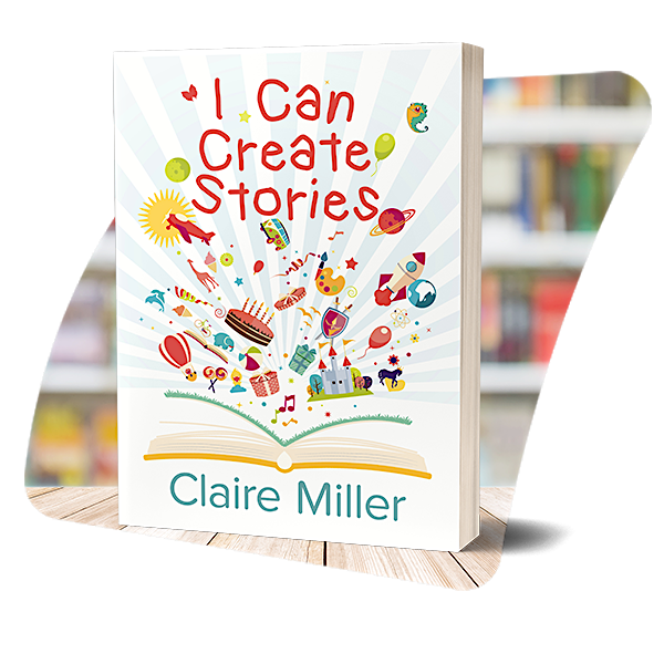 The cover of I Can Create Stories
