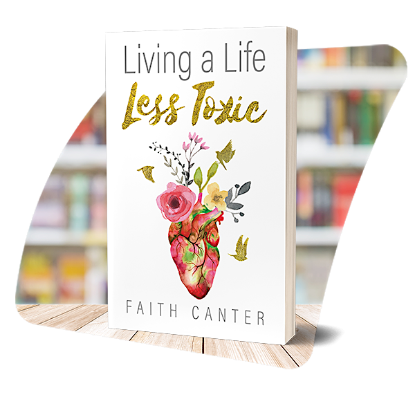 The cover of Living a Life Less Toxic