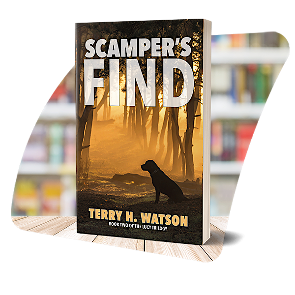 The cover of Scamper's Find