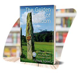 The cover of the Golden Book of Wisdom