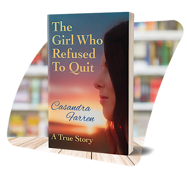 The cover of The Girl Who Refused to Quit