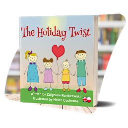 The cover of The Holiday Twist