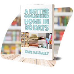 A better organised home in 30 days cover