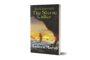 Jack Janson and The Storm Caller book cover 3D